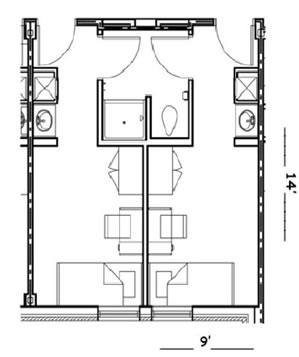 Shared Room: 2 Twin U0026 Private Bath U2013 $50/night Part 47